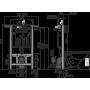 Инсталляция для унитаза Alcaplast AM102/1000 Jadromodul