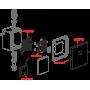 Устройство автоматического смыва Alcaplast ASP3-KB