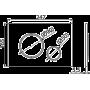 Кнопка управления Alcaplast M77X
