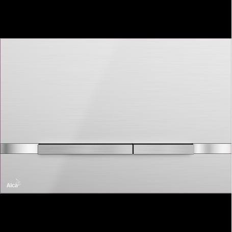 Кнопка управления Alcaplast Stripe Inox