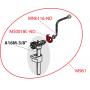 Шланг с о-образным кольцом для Slim инсталляции АМ AlcaPLAST MN0116-ND