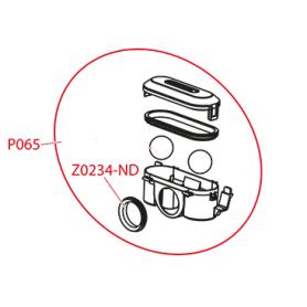 Прокладка сифона -пластиковый желоб AlcaPLAST Z0234-ND