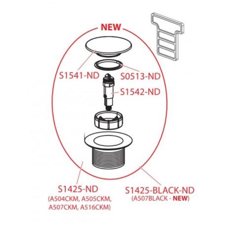 Клик-клак к новому съемному донному клапану AlcaPLAST S1542-ND