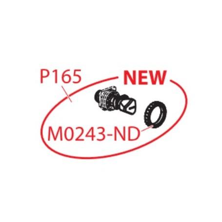 Кран угловой с кронштейном для систем инсталяции АМ AlcaPLAST P165