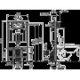 Инсталляция для унитаза Alcaplast AM101/1000 Sadromodul