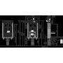Инсталляция для унитаза/вентиляции Alcaplast AM115/1000V Renovmodul