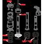 Сливной механизм Alcaplast A06/850